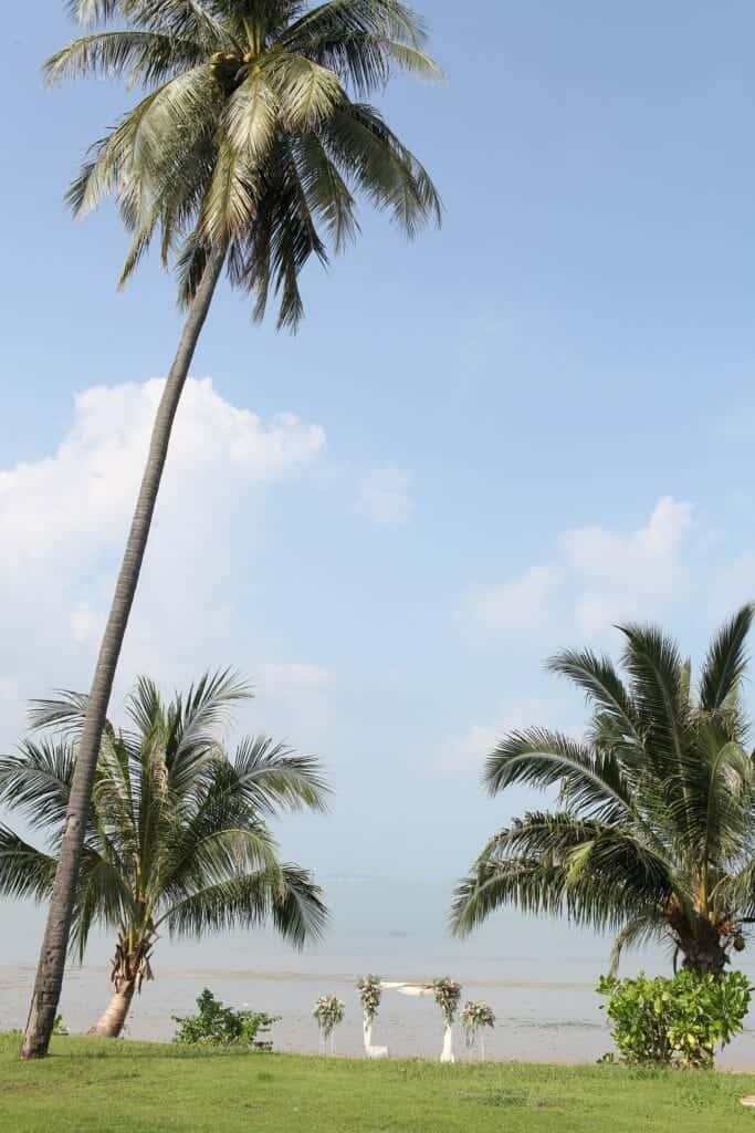 Beach Wedding Photographs - Coconut Island Resort Phuket 1
