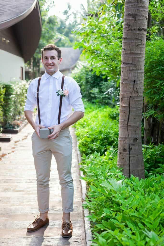 Beach Wedding Photographs - Coconut Island Resort Phuket 11