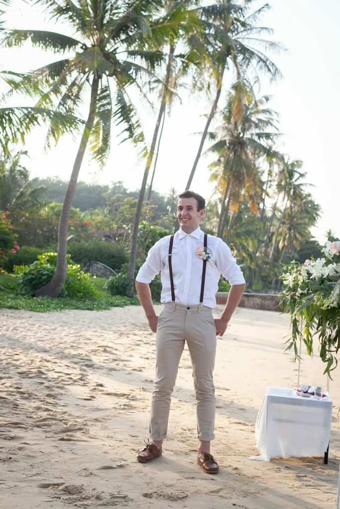 Beach Wedding Photographs - Coconut Island Resort Phuket 38