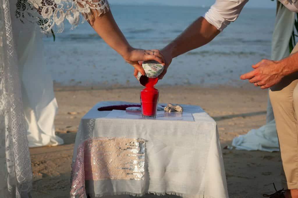 Beach Wedding Photographs - Coconut Island Resort Phuket 50