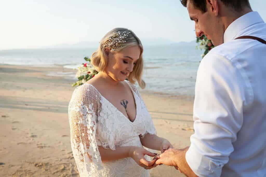 Beach Wedding Photographs - Coconut Island Resort Phuket 51