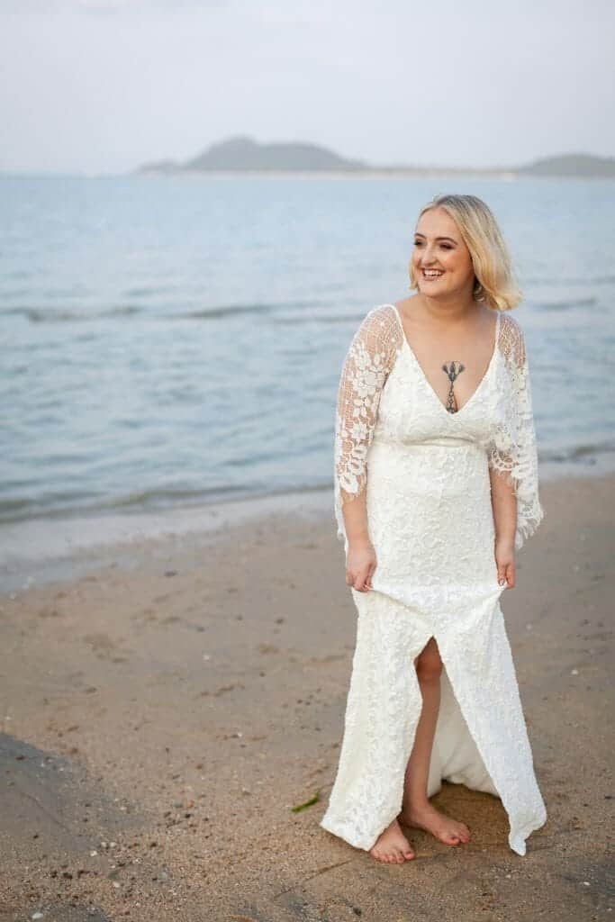Beach Wedding Photographs - Coconut Island Resort Phuket 72