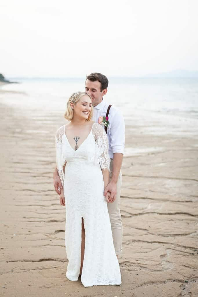 Beach Wedding Photographs - Coconut Island Resort Phuket 79