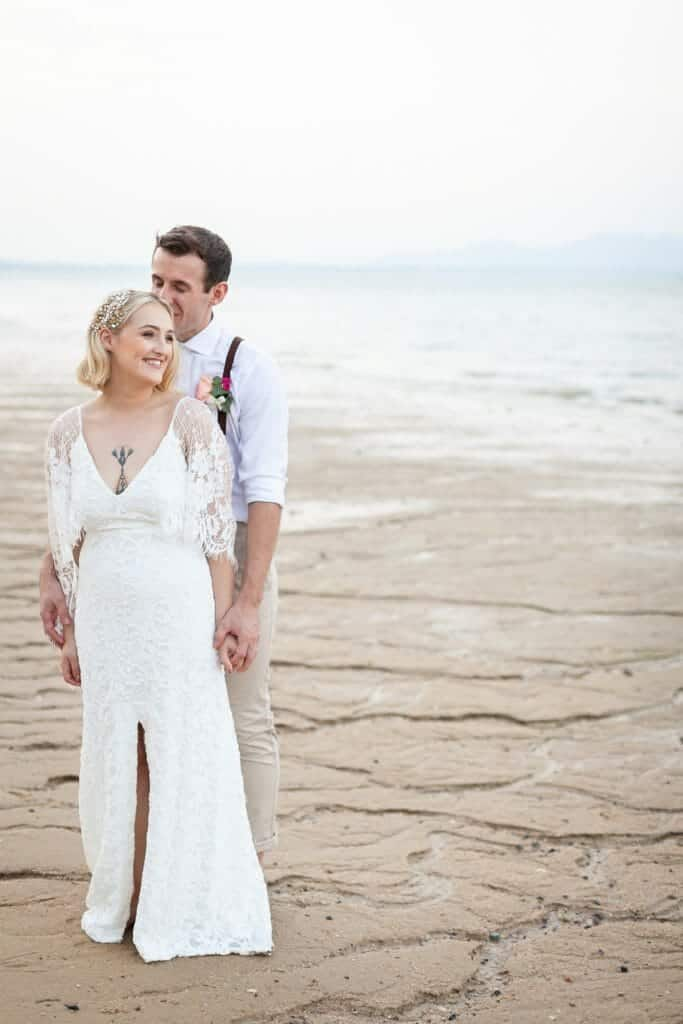 Beach Wedding Photographs - Coconut Island Resort Phuket 80
