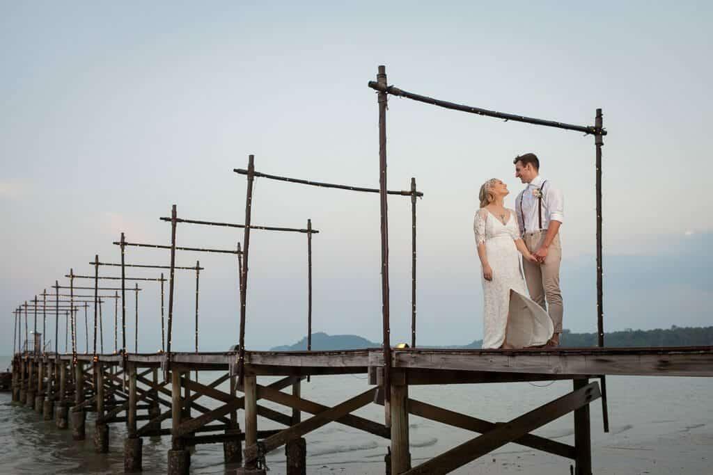 Beach Wedding Photographs - Coconut Island Resort Phuket 83