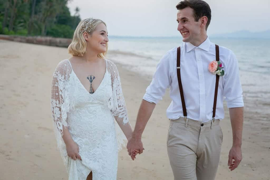 Beach Wedding Photographs - Coconut Island Resort Phuket 90